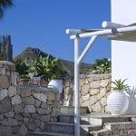 Villa Gallis Outdoors Garden stairs stone trees nature architecture design calmness summertime Villa Gallis Milos island e1510550241597 150x150