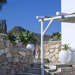 villa gallis milos hotel villa gallis milos hotel Outdoors Garden stairs stone trees nature architecture design calmness summertime Villa Gallis Milos island 150x150